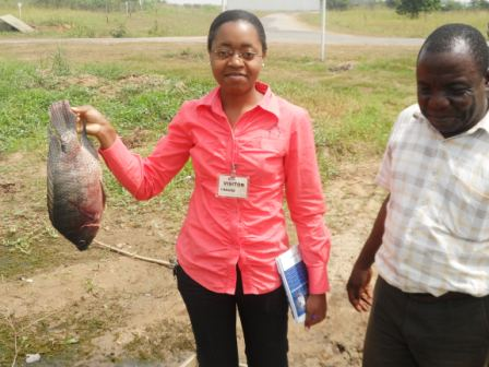 Young Ladies break fish farming's barriers